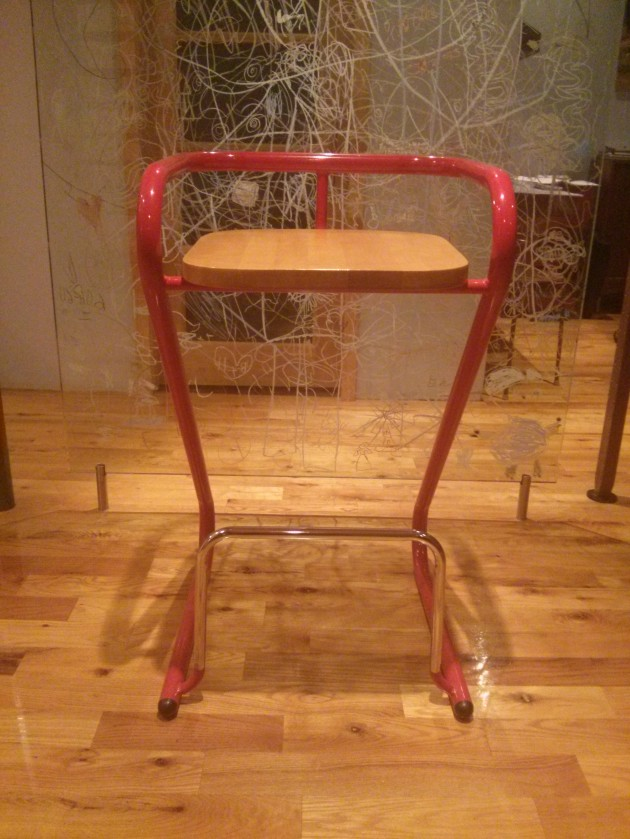 3 vintage tubular steel and chrome barstools available in Ottawa